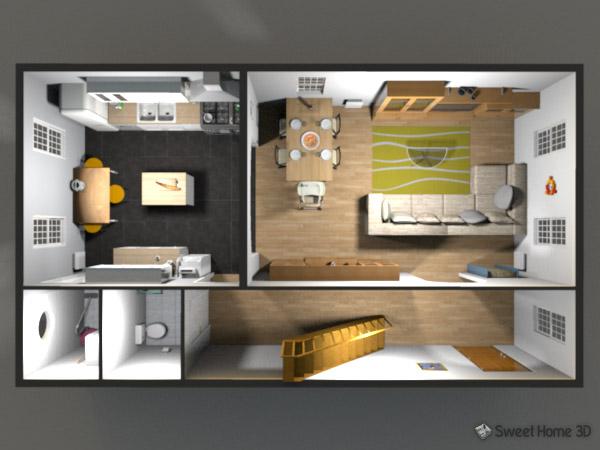 Come disegnare una casa in 3d for Sweet home 3d italiano